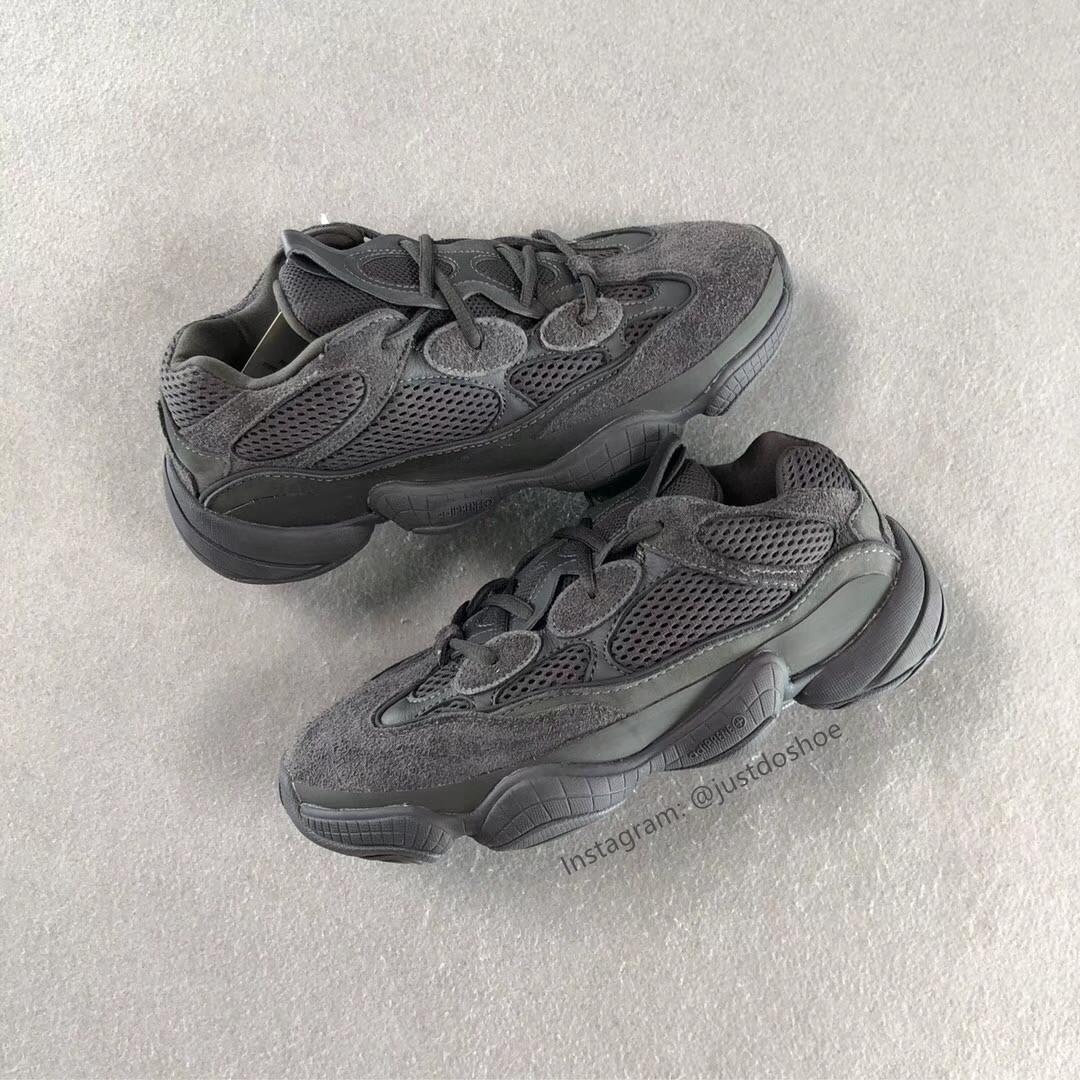 quality design c3d14 9d885 adidas Yeezy 500 Shadow Black (Friends & Family) – Amos ...